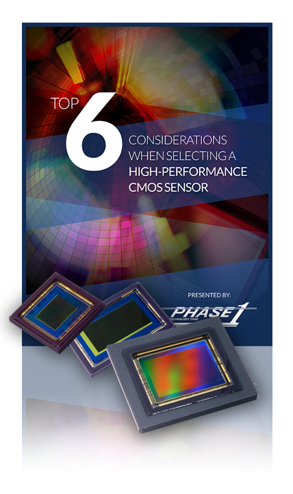 Top 6 Considerations When Selecting a High-Performance CMOS Sensor