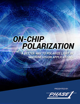 On-Chip Polarization: A Better Way to Polarize Light in Machine Vision Applications