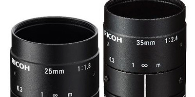 New RICOH Lenses Feature Lower Distortion and Higher Resolution