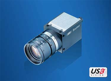 Smallest Baumer CX Series 12 MP Global Shutter CMOS Camera