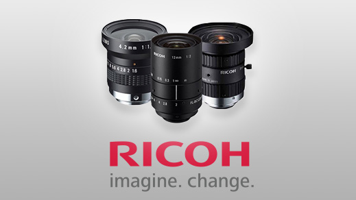New Ricoh F Mount Machine Vision Camera Lenses For Industrial Inspection | Machine Vision Blog