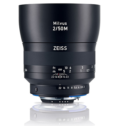 Product image of Zeiss Milvus 2.0/50M ZF.2